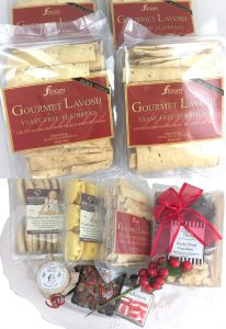 Finom lavosh cracker products for Gourmet Gifts