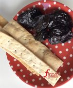 Lavosh Flatbread crackers by Finom served with With Prunes