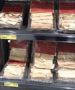 Finom brand lavosh Crackers at Ritchies IGA New Lambton store